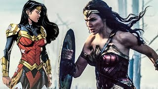 WONDER WOMAN 2 - NEW ARMOR and CHEETAH Revealed