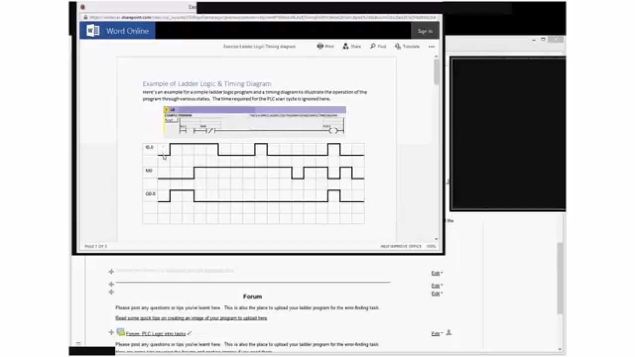 Introduction to timing diagram for plc ladder logic youtube cheapraybanclubmaster Choice Image