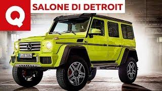 La nuova Mercedes classe G al Salone di Detroit 2018 | Quattroruote