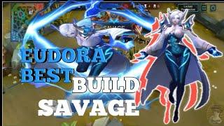 Download lagu Ang sakit ni eudora | Best build Eudora Savage naka mvp PA