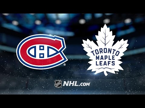 McElhinney, Maple Leafs shut out Canadiens, 4-0