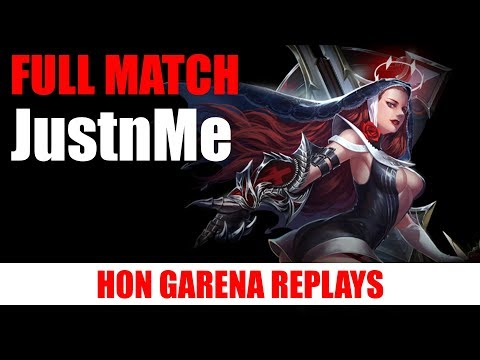 HON WITCH SLAYER SIN GAMEPLAY - JUSTNME - LEGENDARY - FULL MATCH