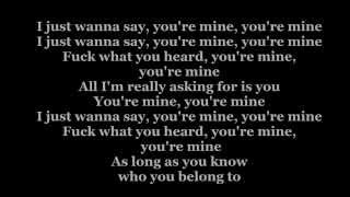 Repeat youtube video Beyonce Mine  LYRICS HD