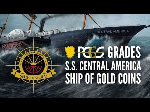 PCGS Grades S.S. Central America Ship of Gold Coins - The Process