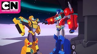Transformers Cyberverse | Entering Stasis | Cartoon Network