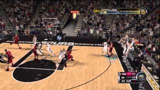NBA 2K12 CAL - Showdown in San Antonio
