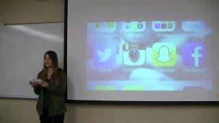 Persuasive Speech #28--You Should Stop Taking Selfies