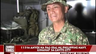 Philippine Navy : 115th Anniversary @ Fort San Felipe, Cavite City