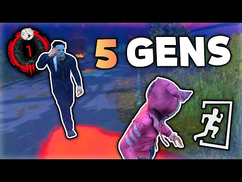 5 Gen Chases in Red Ranks – Dead by Daylight