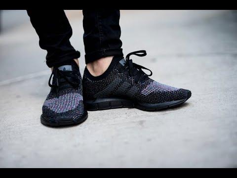 5c4c214e1fe6 Unboxing Review sneakers Adidas SWIFT RUN PK CG4127 - YouTube