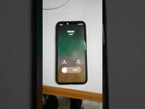 reputable site c6dc0 8bc66 iPhone X display lag during incoming calls