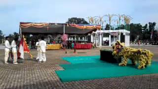 Three Sakti Lion dance