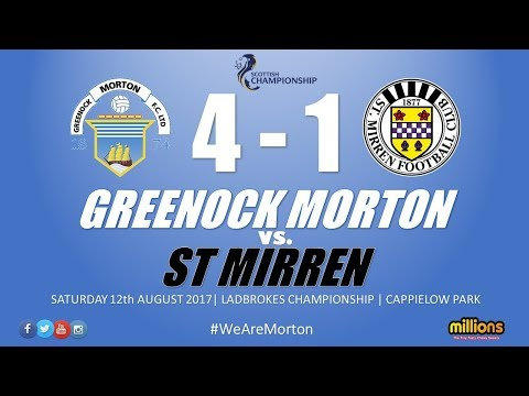 Match Highlights: Morton 4-1 St Mirren (Saturday 12 August)