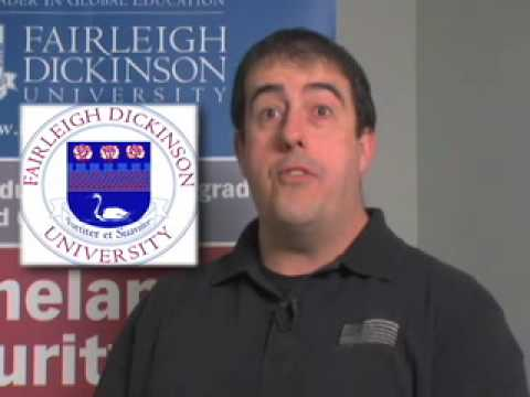 FDU Master of Administrative Science Degree: Terry Hoban