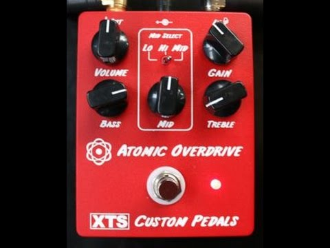 XTS Atomic Overdrive Demo Video by Shawn Tubbs