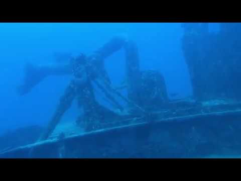 Atlantis Submarine Underwater tour - Aruba - scuttled ship