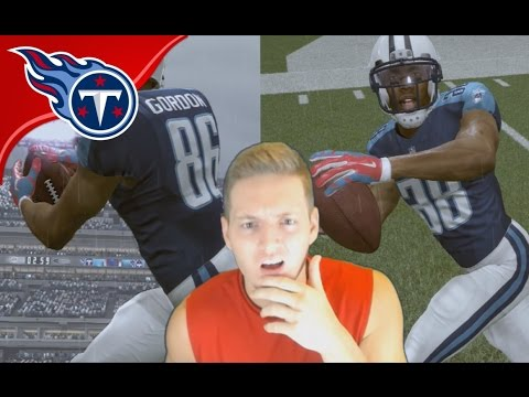 JOSH GORDON TRADED TO THE TITANS! - Madden 17 Titans Connected Franchise #3