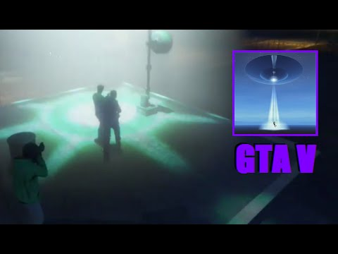 Three Main Characters Alien Abduction Attempt - GTA 5 Chiliad Mystery / Secrets & Easter Eggs