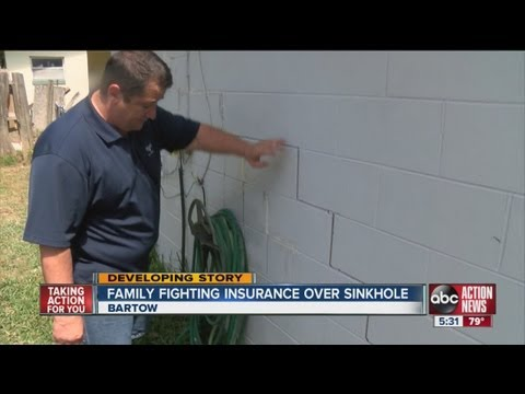Bartow couple fighting uphill battle to get insurance to pay sinkhole claim