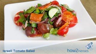 Israeli Tomato Salad
