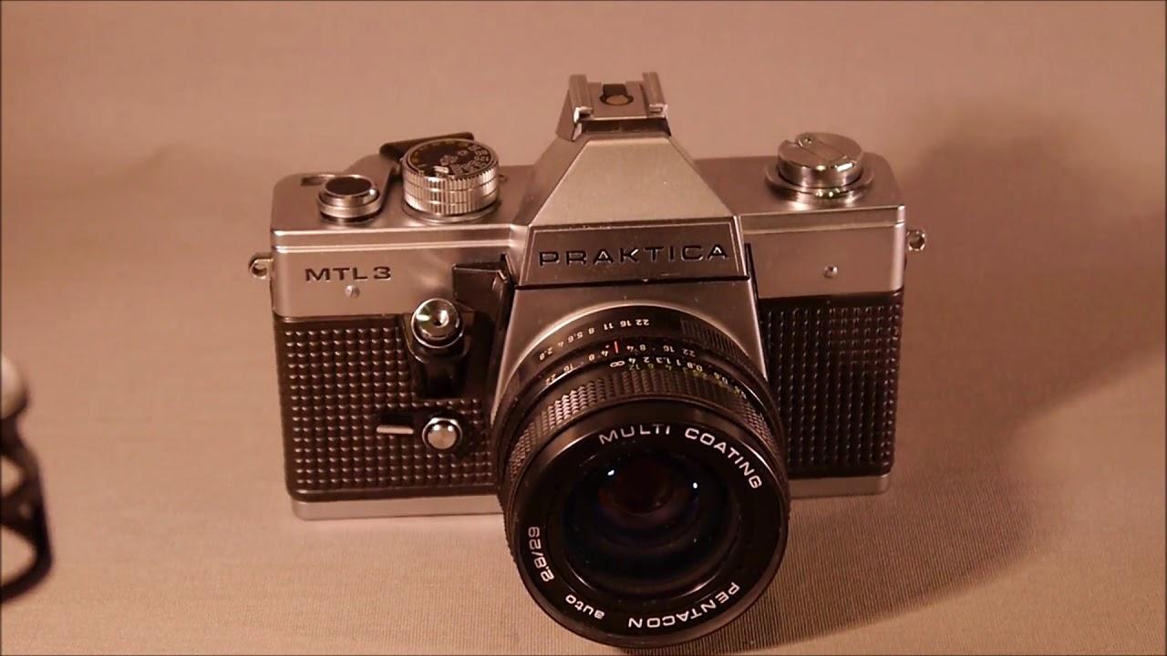 Praktica mtl film camera w mm mm lenses shopgoodwill