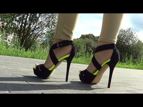 CROSSSRESSER WORKS OUT IN OPEN TOE High Heels    Yoya Fabulosa s Work Out RoutineKaynak: YouTube · Süre: 8 dakika59 saniye