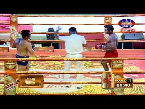 Ly Phea vs Chey Sineth, Khmer Boxing Seatv 02 June 2018
