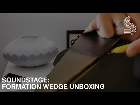 Bowers & Wilkins Formation Wedge Unboxing