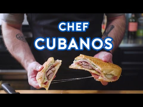 Binging with Babish: Cubanos from Chef