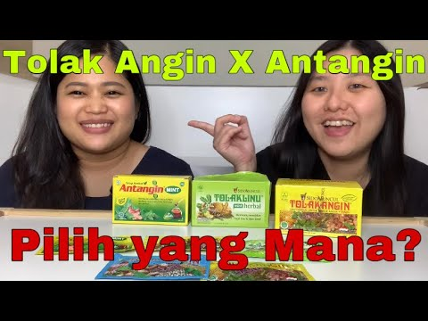 Tolak Angin | Antangin | Indonesia's herbal expert | Honest Review | Flu Medicine | Dahsyat!