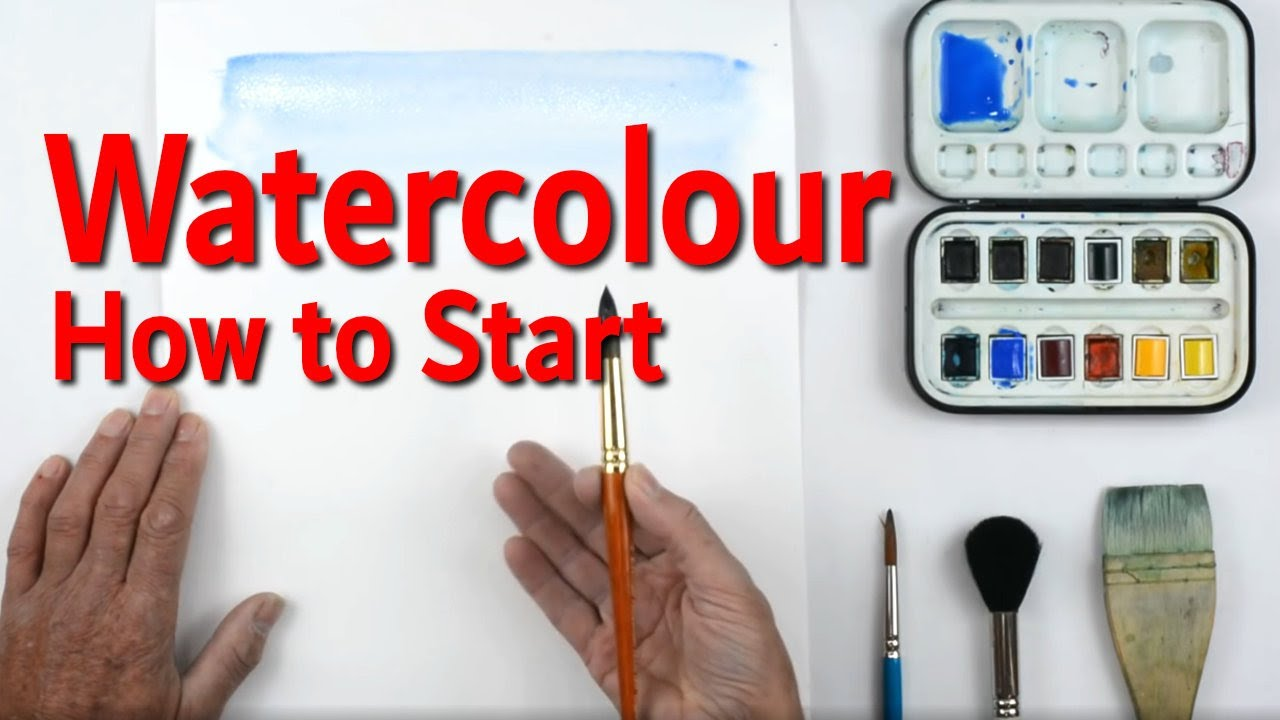 WATER COLOURS FOR BEGINNERS