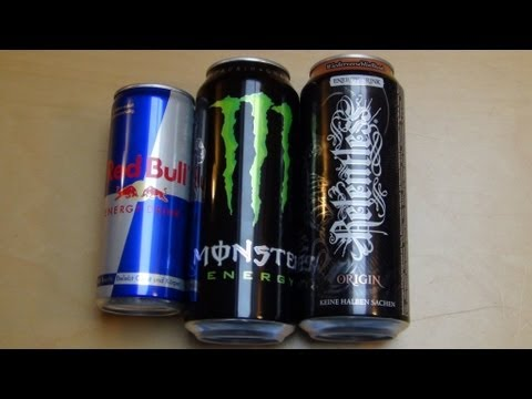 Energy Drink Battle [Red Bull vs Monster vs Relentless]