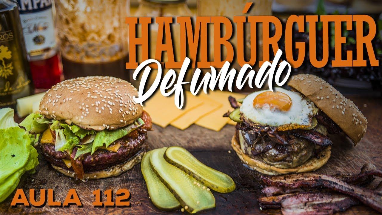 Hambúrguer Defumado (Como Defumar Hambúrguer no Pit) / Cansei de Ser Chef