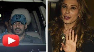 Salman Khan And Iulia Vantur Party At Sohail Khan's Wife Seema Birthday Bash