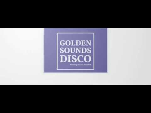 Golden Sounds Disco Facebook Cover