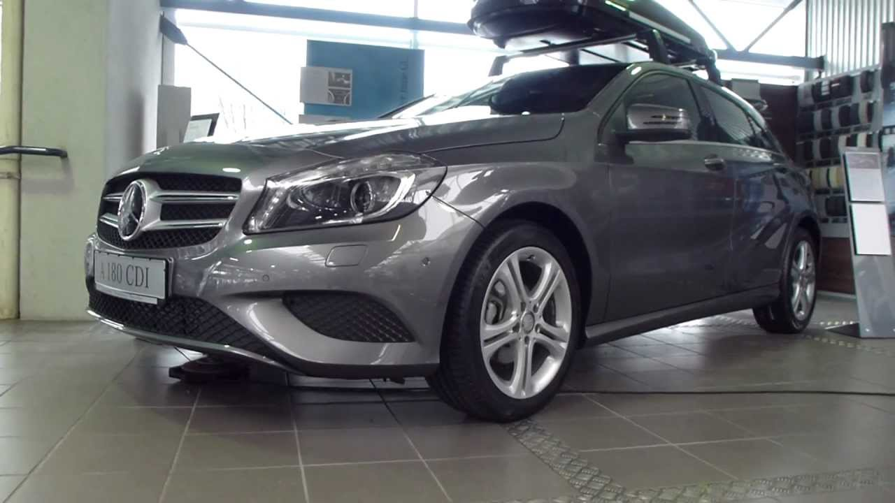 2013 Mercedes A 180 CDI / Original Mercedes Roof Box 400 * See Also  Playlist   YouTube