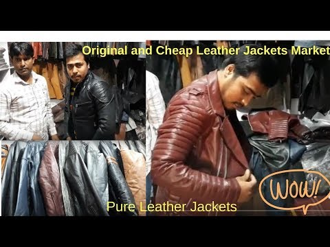 Leather Jackets Market in Delhi | Mohammadpur | bhikaji cama place | born to explore