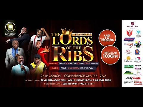 Video (stand-up): Lords of the Ribs 2016 Full Show – Bovi, Akpororo, Buchi & More (2 hrs)