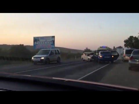 авария трасса Невинномысск Ставрополь август 2015