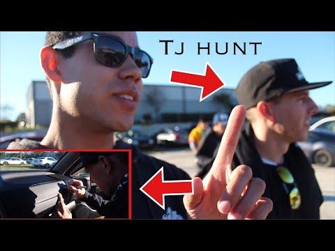 TJ HUNT SIGNED MY CAR!! Adam Lz Open House!