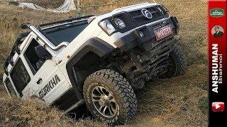 2019 Gurkha Xtreme, 2.2 140bhp, front Solid Axle: Offroading Clip. | Force Gurkha Extreme