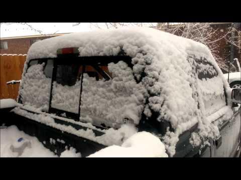 Sundown Snow Removal! X15 causing door flex