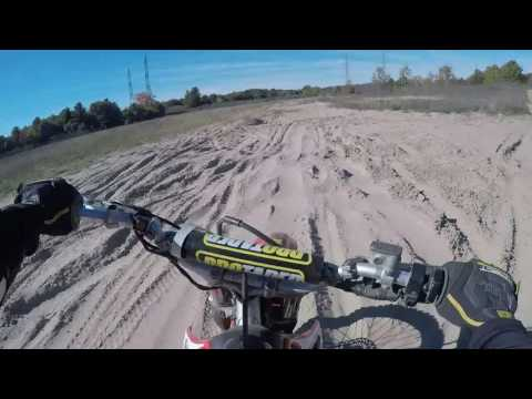 Newtonville Dirt Biking Honda CRF230f and Husqvarna TE310