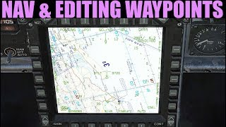 FA-18C Hornet: (Out Of Date) INS HSI Navigation & Waypoint Manipulation  | DCS WORLD