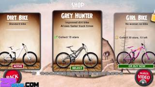 Stickman Downhill - Motocross - Djinnworks GmbH Level 1-10 Gameplay Walkthrough