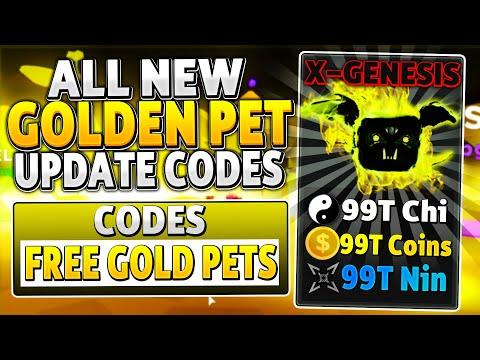 ALL NEW *GOLDEN MASTER UPDATE* PET CODES In NINJA LEGENDS (ROBLOX UPDATE CODES)