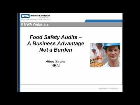 Food Safety Audits for Food Container Manufacturers- Recorded Webinar