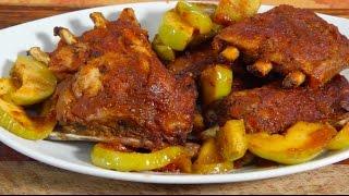 Apple BBQ Ribs