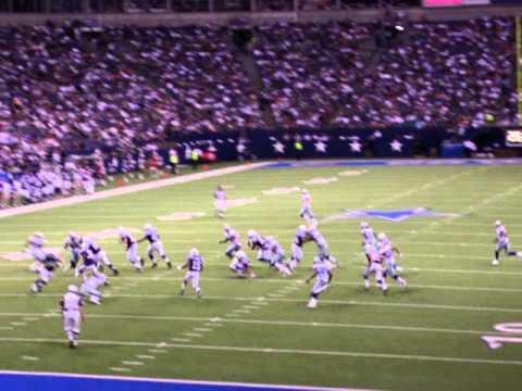 2007 Dallas Cowboys vs. Indianapolis Colts Preseason: 2nd Half Kickoff