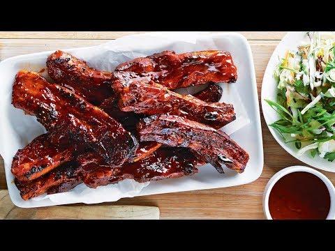 Жареные свиные ребрышки в духовке пошаговый рецепт с